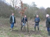 Planting Ken's Tree 2003