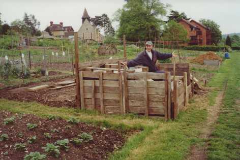 Horse Manure Composting Sunnyside Allotment Society